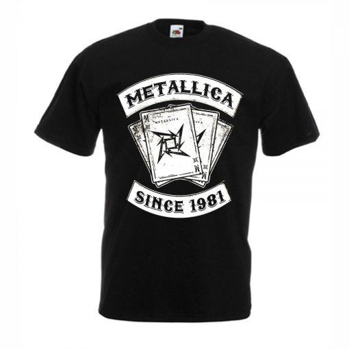 тениска металика