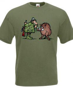 тениска за ловец