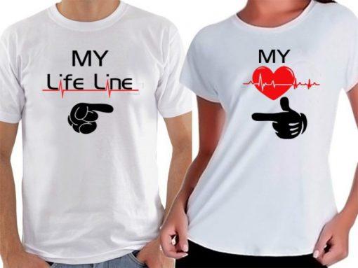 тениски за свети валентин