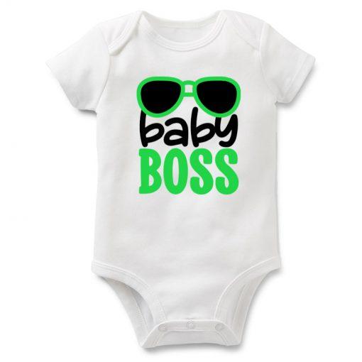 бебешко боди boss baby